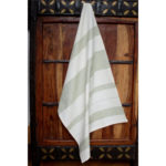 Leaf Cotton Kitchen Towel - Sustainable Threads (L)