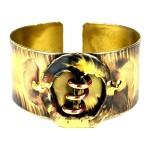 Copper Spring Brass Cuff