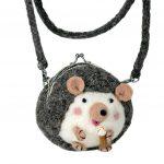 Critter Purse : Harper Hedgehog - Wild Woolies (P)