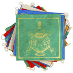 Paper Prayer Flag Lucky Signs 8 ft long - Tibet Collection