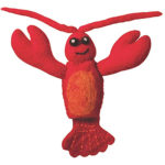 Woolie Finger Puppet - Lobster - Wild Woolies (T)