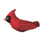Felt Bird Garden Ornament - Cardinal - Wild Woolies (G)