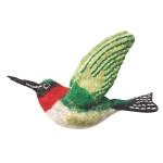 Felt Bird Garden Ornament - Hummingbird - Wild Woolies (G)