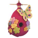 Felt Birdhouse - Butterfly - Wild Woolies