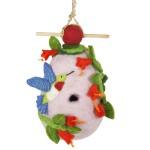 Wild Woolies Felt Birdhouse - Hummingbird