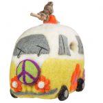 Felt Birdhouse - Magic Bus - Wild Woolies
