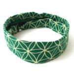 Flower of Life Headband - Green - Global Groove (W)