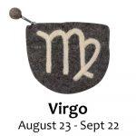 Felt Virgo Zodiac Coin Purse - Global Groove
