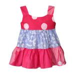 Babies Gypsy Dress-Patchwork-Primrose - Global Mamas (B)