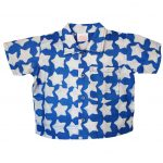 Babies Button Down Shirt Stars Blue - Global Mamas (B) 24M