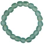 Sky Blue Pearl Glass Bracelet