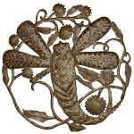 Dragonfly 24 Inch Metal Art