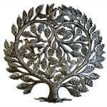 Steel Drum Art -  Lovers Heart 24 inch Tree of Life