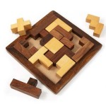 """Handmade """"Piece It Together"""" Wood Puzzle"""