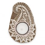 Aashiyana Tea Light Holder - Paisley - Matr Boomie (Candle)
