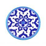 Blue Pottery Trivet - Indigo - Matr Boomie (Pottery)