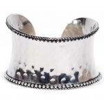 Rustic Silver Cuff Bracelet - Matr Boomie (Jewelry)