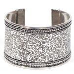 Metal Impression Cuff Bracelet - Matr Boomie (Jewelry)