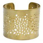 Viti Cuff Bracelet- Goldtone - Matr Boomie (Jewelry)