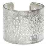 Viti Cuff Bracelet - Silvertone - Matr Boomie (Jewelry)