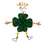 Dancing Girl Luck of the Irish Pin - The Takataka Collection