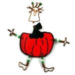 Dancing Girl Pumpkin Pin - The Takataka Collection