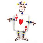 Dancing Girl Card Player Pin - The Takataka Collection