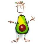 Dancing Girl Avocado Pin - The Takataka Collection