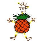 Dancing Girl Pineapple Pin - The Takataka Collection