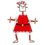 Dancing Girl Santa Pin - The Takataka Collection