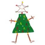 Dancing Girl Christmas Tree Pin - The Takataka Collection