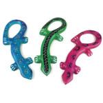 Set of 3 Mini Handcrafted Soapstone Lizards - Smolart