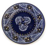 Round Plate - Blue - encantada