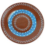 Round Plate - Chocolate - Encantada