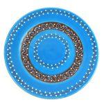 Round Plate - Azure Blue - Encantada