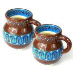Set of Two Beaker Cups - Chocolate - encantada