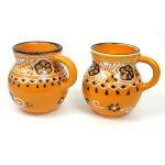 Pair of Beaker Cups - Mango - Encantada