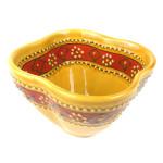 Hand-painted Dip Bowl in Honey - Encantada