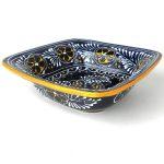 Flared Serving Bowl - Blue - encantada