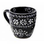 Encantada Handmade Pottery Mug, Ink