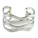 Mixed Media Silver Overlay Bracelet - Artisana Jewelry
