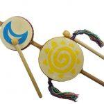 Junior Sun Moon Star Drum - Jamtown World Instruments
