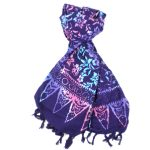 Handmade Sarong Deep Purple - Designs will Vary - Global Groove (W)