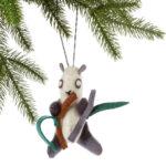 Panda Felt Holiday Ornament - Silk Road Bazaar (O)
