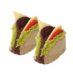 Cheeseburger Zooties Baby Booties - Silk Road Bazaar