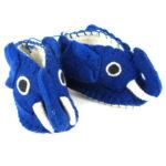 Blue Elephant Zooties Baby Booties - Silk Road Bazaar