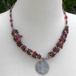 Beaded Elegance Necklace (Kenya)