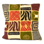 Handmade Colorful Patches Batik Cushion Cover