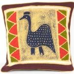 Handmade Guinea Fowl Batik Cushion Cover