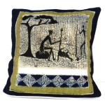 Handmade Hunting Batik Cushion Cover